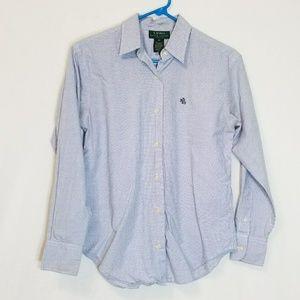 Lauren Ralph Lauren Long Sleeve Dress Shirt